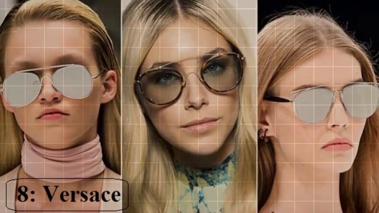 08d928105 افضل 10 ماركات عالمية للنظارات الشمسية للرجال والنساء - YouTube