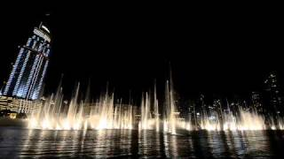 Dubai Fountain: Thriller (Michael Jackson)