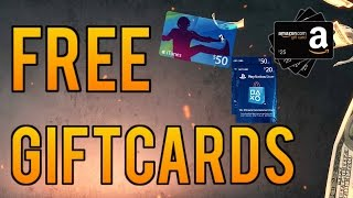 How To Get Free Gift Cards LEGIT!!!!