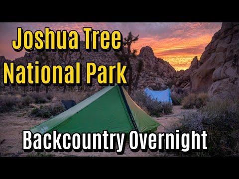 Joshua Tree National Park - Overnight Backpacking Trip