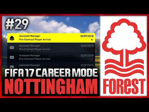 SO MANY NEW PLAYERS! NOTTINGHAM FOREST CAREER MODE #29 (FIFA 17)