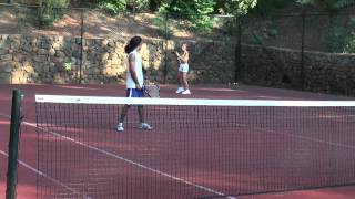 tennis game from marmaris 2010