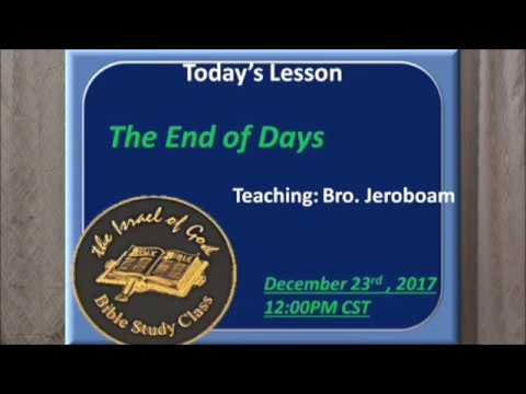 "IOG Minneapolis - ""The End of Days"""