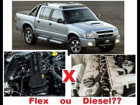 S10, Diesel ou Flex??