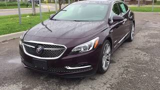 First LOOK 2018 Buick LaCrosse Avenir AWD Head Up Display Auto Park Cherry Oshawa ON Stock #181111