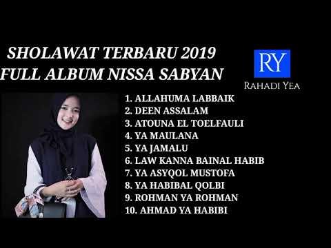 NISSA SABYAN FULL ALBUM TERBARU 2019 - YA HABIBAL QOLBI