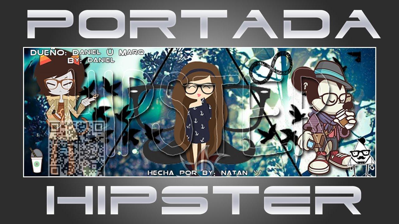 Como Hacer Una Portada Hipster Para Facebook Con Photoshop Cs6 Youtube