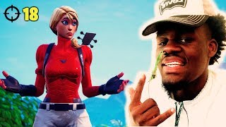 I PLAYED DUOS WITH UGLY GOD! (HE FREESTYLED)