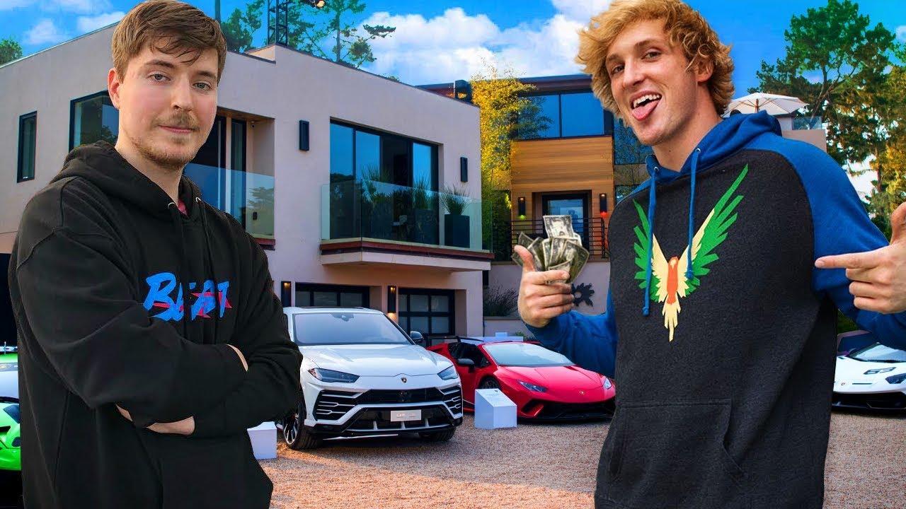 10 Richest YouTubers of 2020 Logan Paul MrBeast PewDiePie David Dobrik
