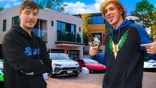 Download 10 Richest YouTubers of 2020 (Logan Paul, MrBeast, PewDiePie, David Dobrik) Mp3 and Videos