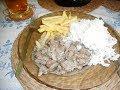 Karpatská panvica - poľovnícka špecialita z jelenieho mäsa.