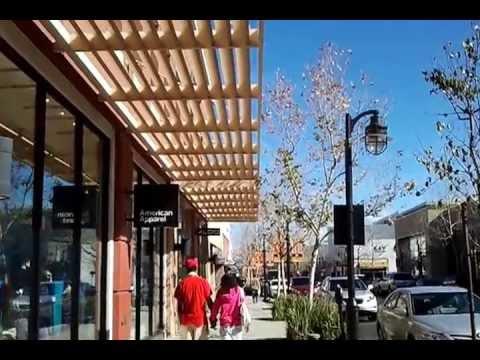 Beautiful Victoria Gardens Shopping Mall Rancho Cucamonga California