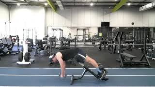 Back Extension Lateral Raise