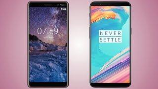 Nokia 7 plus vs Oneplus 5T Comparison