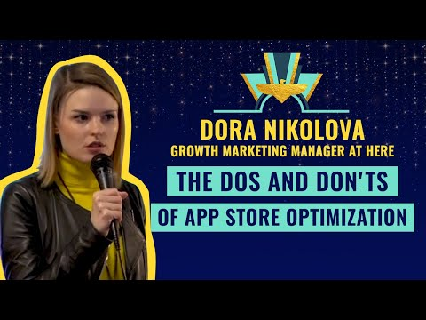 """The Dos and Don'ts of App Store Optimization"" by Dora Nikolova, Growth @Here ⚡️"