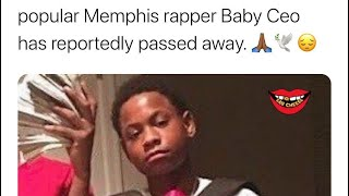 R.I.P. Baby CEO Died At Age 20 A day After the Anniversary Of Fredo Santana Death R.I.P. Big CEO