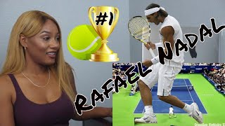Clueless new american tennis Fan Reacts to Rafael Nadal, Tennis Top Points, Highlights