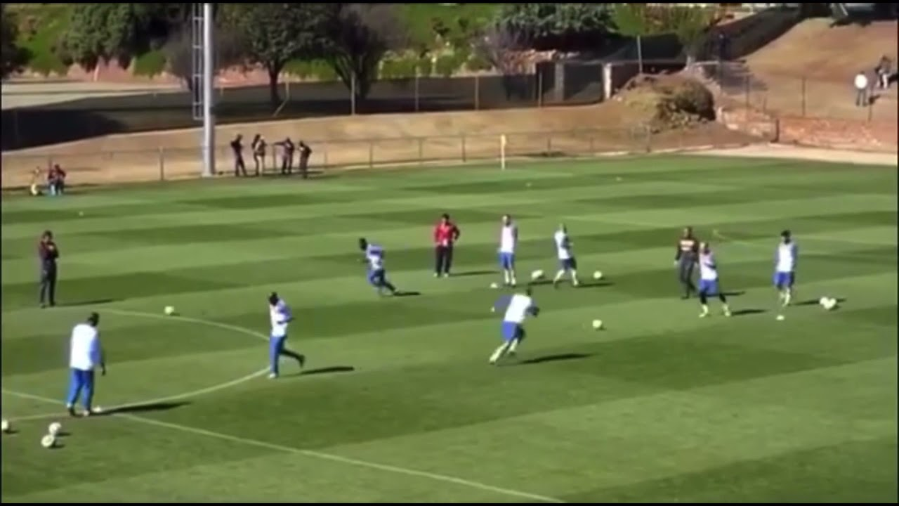 Netherlands - passing and finishing drill