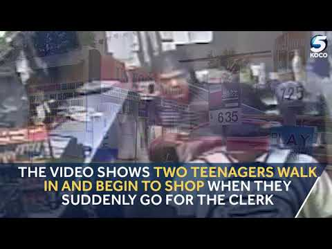KOCO Digital Originals: Search for 3 Teens Caught on Camera Assaulting Clerk During Robbery