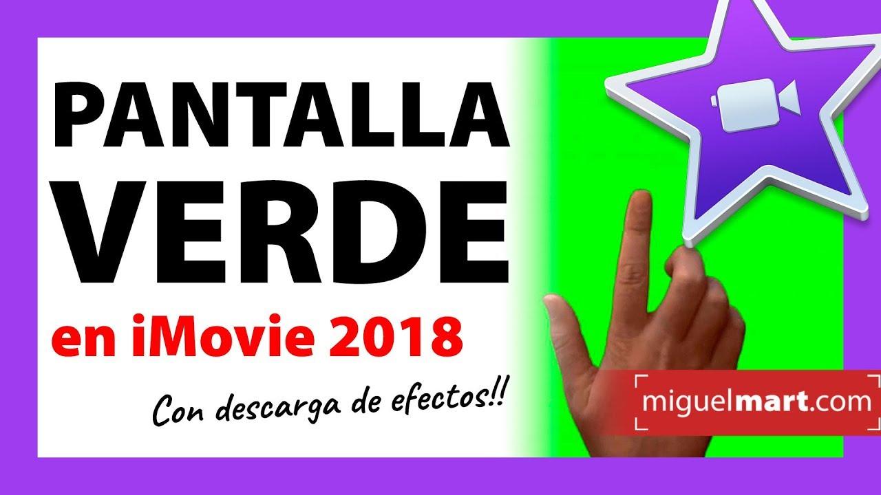PANTALLA VERDE【DESCARGAR EFECTOS】 🤢COMO APLICARLOS Español 2018 ...