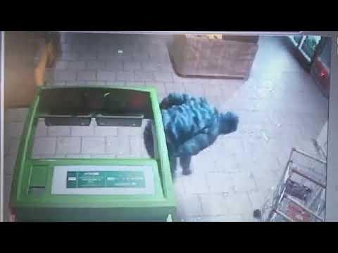 Как в Новокузнецке вскрывали банкомат