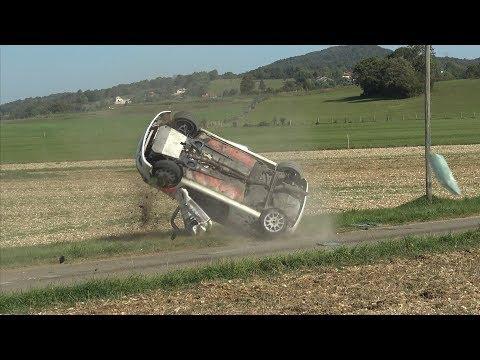 Rallye Du Suran 2019 / Big Crash & Mistakes