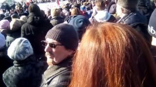 митинг в новосибирске против повышения тарифов жкх на 15 % 19 марта 2017 начало
