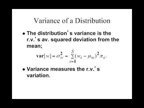 Week 6 Lecture 1: Preferences over risky assets.