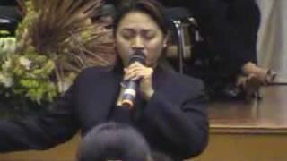 Maribeth Denpasar moon til pada penutupan Devosi Maria 2009
