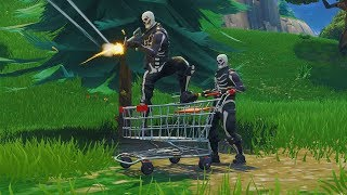 "Fortnite ""SHOPPING CARTS"" v4.3 UPDATE! NEW Fortnite Battle Royale Gameplay Patch Notes"