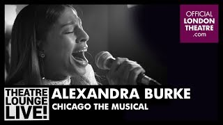 Alexandra Burke performs Funny Honey from Chicago The Musical