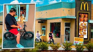 FOMOS DE BIKE NO DRIVE THRU  ‹ EduKof ›