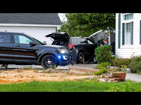 Rookie Officer Plows SUV Into Sea Girt Home