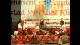 Wajahat Khan & Sabir Khan, sarod & tabla, Raag Bhairvi, South Point felicitation concert