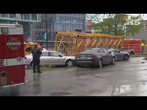 Construction crane collapses in Seattle, killing four people