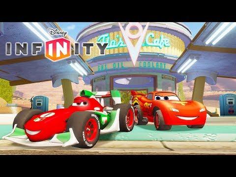 CARS FLASH MCQUEEN Jeux Vidéo de Dessin Animé en Français Voiture pour Enfants - Disney Infinity