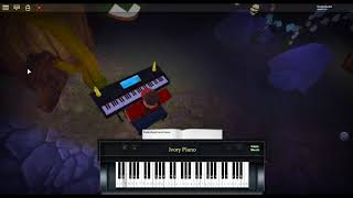 Take the L - Fortnite on a ROBLOX piano.