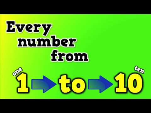 Number Words Rap (a song for spelling number words) - YouTube