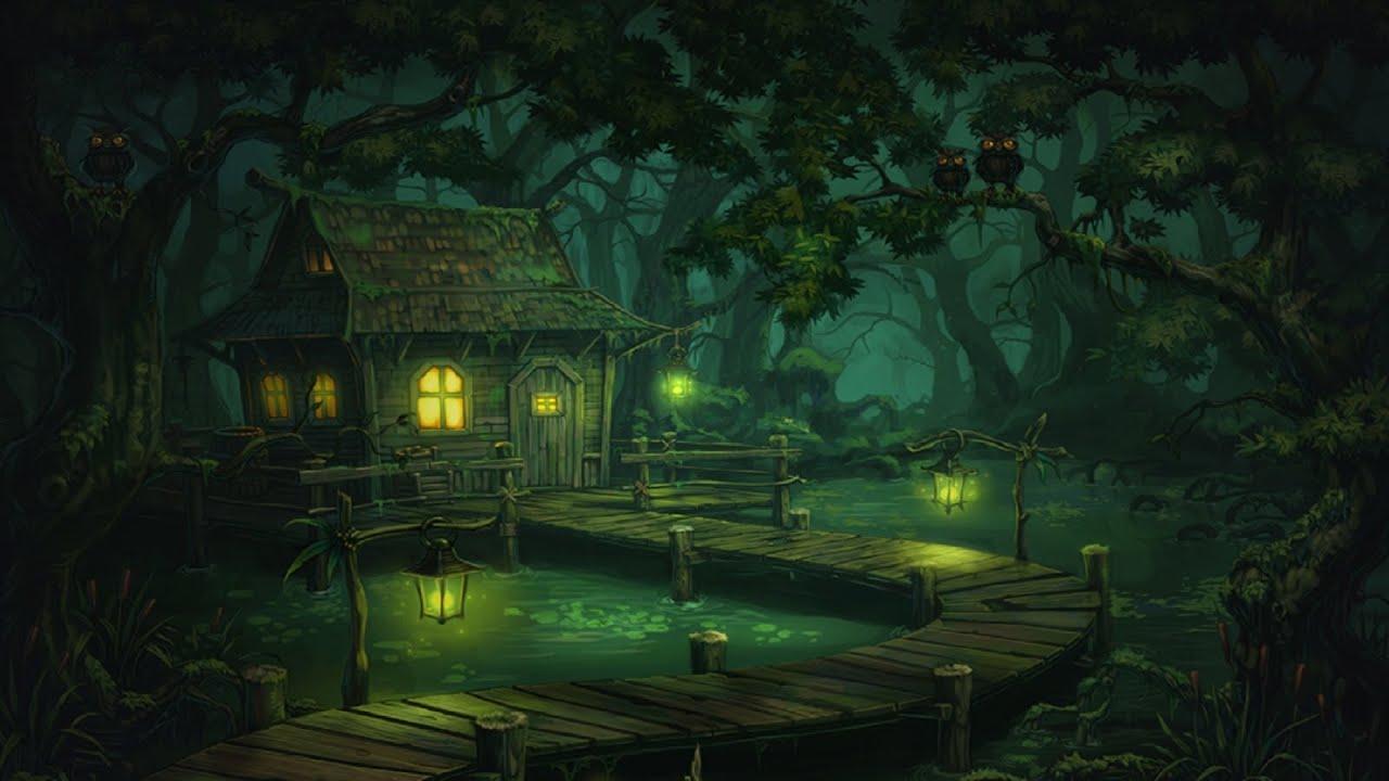 Wall Murals Nature Creepy Swamp Music Murky Swamp Youtube
