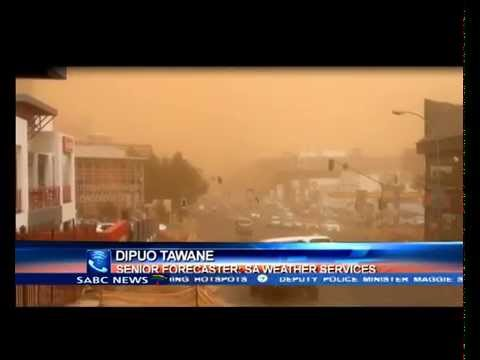 Major sand storms hit some parts of SA