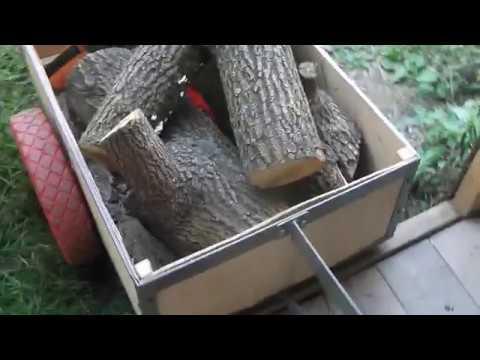 Грузовая тележка для велосипеда Truck For Bike Заготовка древесины для работ по дереву