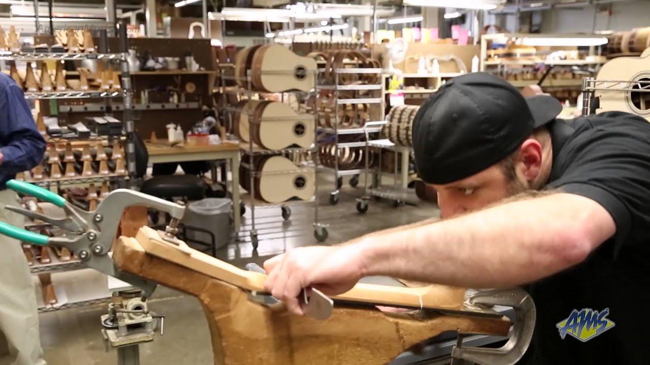 Guitar Factory Tour Youtube