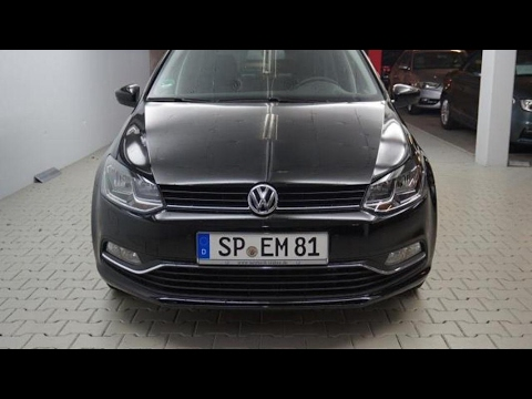 volkswagen polo 1 0 sound bmt klima connectivity paket 4 youtube. Black Bedroom Furniture Sets. Home Design Ideas