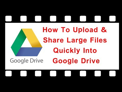 How To Upload & Share Large Files Quickly Into Google Drive || ➥ It's Simple ||  Motion Picture