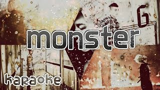 Bigbang - Monster [karaoke]