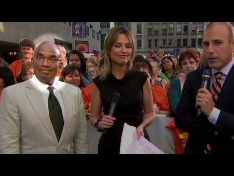 Anderson Cooper mocks Al Roker's frozen pose