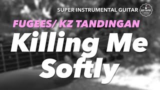 Killing Me Softly Female Key instrumental guitar karaoke cover with lyrics