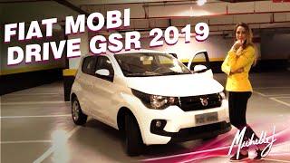 Andando de Fiat Mobi Drive 1.0 GSR 2019 pelas ruas de São Paulo | Avaliação com Michelle J
