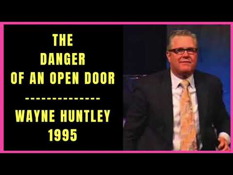 The Danger of an Open Door by Wayne Huntley 1995