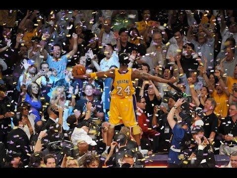 2010 NBA Finals Game 7 Kobe Bryant 23pts (6-24) & Pau Gasol 19pts 18reb 2blk vs Paul Pierce 18pts